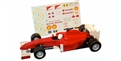 ALLSLOTCAR ASGP068 EVO F1 Slot Car Red w/Decals