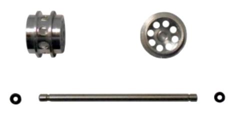 ALLSLOTCAR ASGP076 Independent Rotating Front Wheel Kit