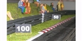 Slot Track Scenics BP4-5 Brake Point Markers 4 and 5