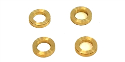BRM BRMS-011W Brass Axle Spacers for Front / Rear Axles