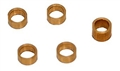 BRM BRMS-065 Turned Brass Axle Spacers for Porsche 917K