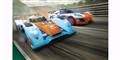 "Scalextric C1384T 1/32 Analog Racing Set ""GULF RACING SET GULF LMP VS GT GULF"""