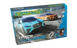 Scalextric C1401T 1/32 Analog I-PACE CHALLENGE (2 X JAGUAR I-PACE)