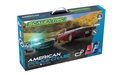 Scalextric C1405T 1/32 Analog Racing Set AMERICAN POLICE CHASE (AMC JAVELIN POLICE CAR V DODGE CHALLENGER)