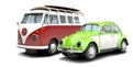 Scalextric C3371A Sand & Surf VW Limited Edition 2 Car Set