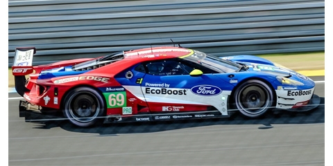 Preorder Scalextric C3858 Ford Gt Gte 69 Lemans 2016