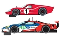 PREORDER Scalextric C3893A Legends Le Mans 1967 - 50 Years of Ford Twin Pack - Limited Edition