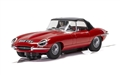 PREORDER Scalextric C4032 JAGUAR E-TYPE - RED 848CRY