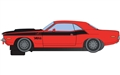 PREORDER Scalextric C4065 DODGE CHALLENGER - RED & BLACK