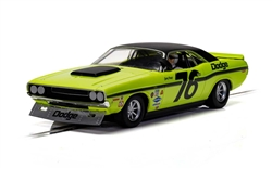 PREORDER Scalextric C4146 DODGE CHALLENGER - SAM POSEY NO.76