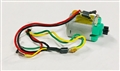 Scalextric C8146-SGE Standard 18,000 Scalextric Motor with 11 Tooth Sidewinder Pinion and Wiring Harness
