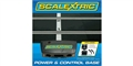 Scalextric C8530 NEW! Analog Sport Power Base - 2 controllers and 1 half straight.