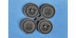 Immense Miniatures CA-002 Resin Molded Accessory - Steel Wheel Inserts