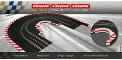Carrera CAR20613 Digital 132 / Digital 124 / Analog Hairpin Curve