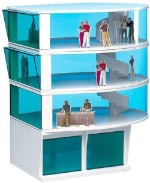 Carrera CAR21102 1/32 Press Tower Set - Lower Level with Spiral Staircase to upper levels