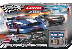 "Carrera CAR25236 1/32 Evolution ""Break Away"" Analog Set"