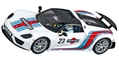 Carrera CAR27467 Analog 1/32 Porsche 918 Spyder Martini Livery #23