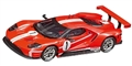 "Carrera CAR27596 Analog 1/32 RTR Ford GT Race Car ""Time Twist, No.1"""