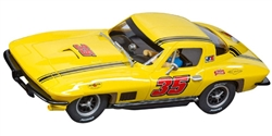 "Carrera CAR27615 Analog 1/32 RTR Chevrolet Corvette Sting Ray ""No.35"""