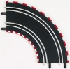 Carrera CAR61603 1/43 GO! Track Radius 1 Curve 90 Arc - 2 Sections / Package