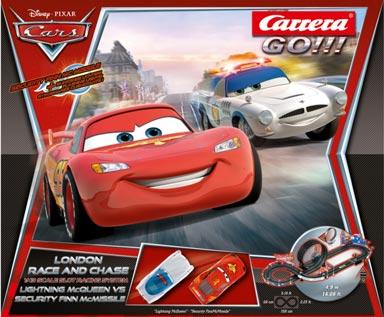 carrera car62277 1  43 go    disney  pixar cars 2 londondrag race wiring panels