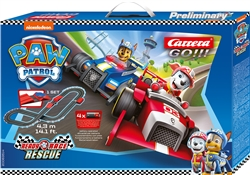 "Carrera CAR63514 1/43 GO!!! ""Paw Patrol - Ready Race Rescue"" Set"