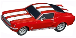 Carrera CAR64120 1/43 GO!!! RTR - Ford Mustang '67 - Race Red