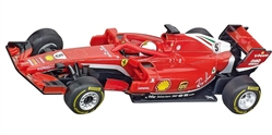 "Carrera CAR64127 1/43 GO!!! RTR - Ferrari SF71H ""S. Vettel, No.5"""