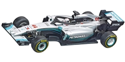 "Carrera CAR64128 1/43 GO!!! RTR - Mercedes-AMG F1 W09 EQ Power+ ""L. Hamilton, No.44"""