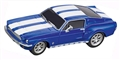 Carrera CAR64146 1/43 GO!!! RTR - Ford Mustang '67, Racing Blue