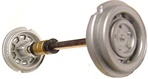 Carrera CAR85258 Exclusiv - Front Axle for Porsche Carrera 6 - 20209-20211-20212-20213