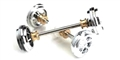 Carrera CAR89535 1/32 Front & Rear Axle '57 Chevy Bel Air