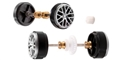 Carrera CAR89844 1/32 Front & Rear Axle Porsche 918 Spyder