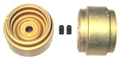 "CB Design CBD0540 ""Classic Steel"" Aluminum 1/32 Wheels 15x11mm Gold"