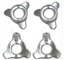 Concours D'Elegance CON2047 #5-40 3 Prong knock-off hubs - Set of 4
