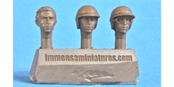 Immense Miniatures F017-32 1/32 Resin Molded Figure - Jim Clark (Early) Heads