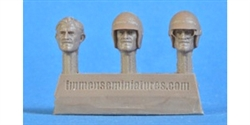 Immense Miniatures F019-32 1/32 Resin Molded Figure - Graham Hill (mid-career) Heads