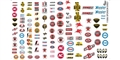 GOFER RACING GOF11006 1/24 / 1/24 Racing Sponsors Decal Sheet