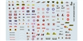 GOFER RACING GOF11011 1/24 / 1/24 Racing Sponsors #2 Decal Sheet
