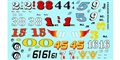 GOFER RACING GOF11015 1/24 / 1/24 Vintage Modified Decal Sheet