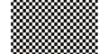 GOFER RACING GOF11020 1/24 / 1/24 Black & White Check Decal Sheet