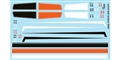 "GOFER RACING GOF11023 1/24 / 1/25 Racing ""Stripes & Panels"" Waterslide Decals"