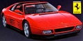 Hasegawa HA20231 1/24 Ferrari 348 ts Static Model Kit Limited Edition
