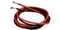 H&R Racing HR0504 Super flexible silicone lead wire - 2 feet red & 2 feet black