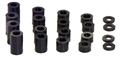 "H&R Racing HR0601 Plastic Spacers for 1/8"" Axle - Graduated Sizes"
