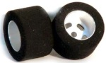 H&R Racing HR1205 27 x 21mm Setscrew Rear Foam Rubber Tires and Wheels