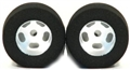 H&R Racing HR1210 27 x 18mm Foam Rubber Tires and Wheels