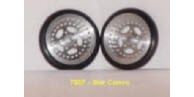 "JDS7007 STAR CONVO 5 Spoke Front Wheels 0.75""  Diameter"