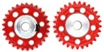 JK Products JK4129 JK 29 TOOTH 48 PITCH 1/8 AXLE GEAR -6/BAG