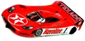 JK Products JK20417133B Porsche GT1 RTR Cheetah 21 Hawk 7 Texaco Havoline Livery